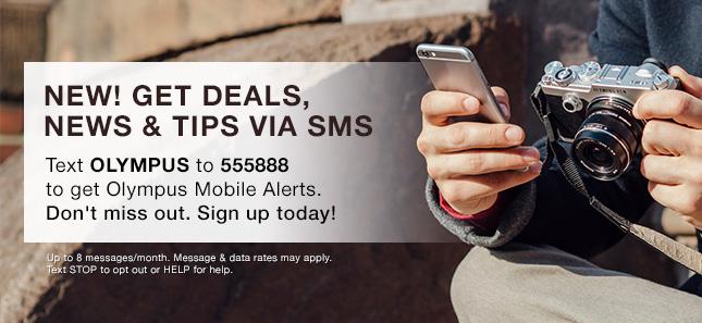 NEW! GET DEALS, NEWS & TIPS VIA SMS
